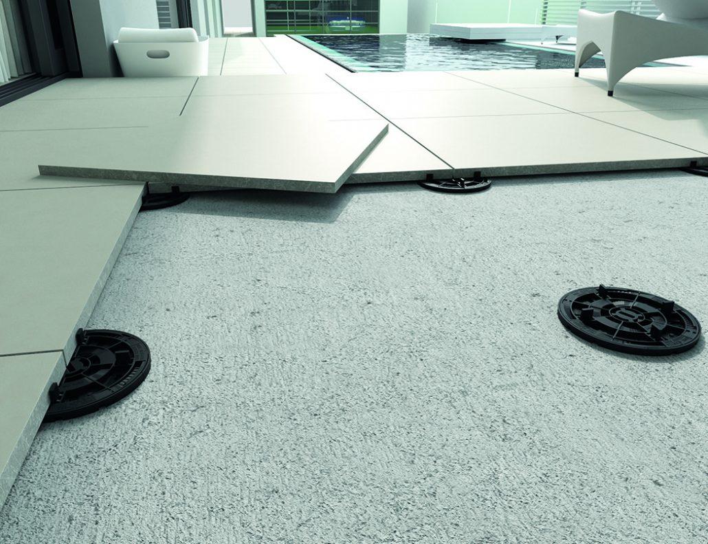 Raised Flooring System.