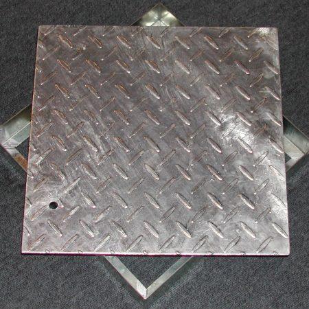 Galvanized Manhole Covers