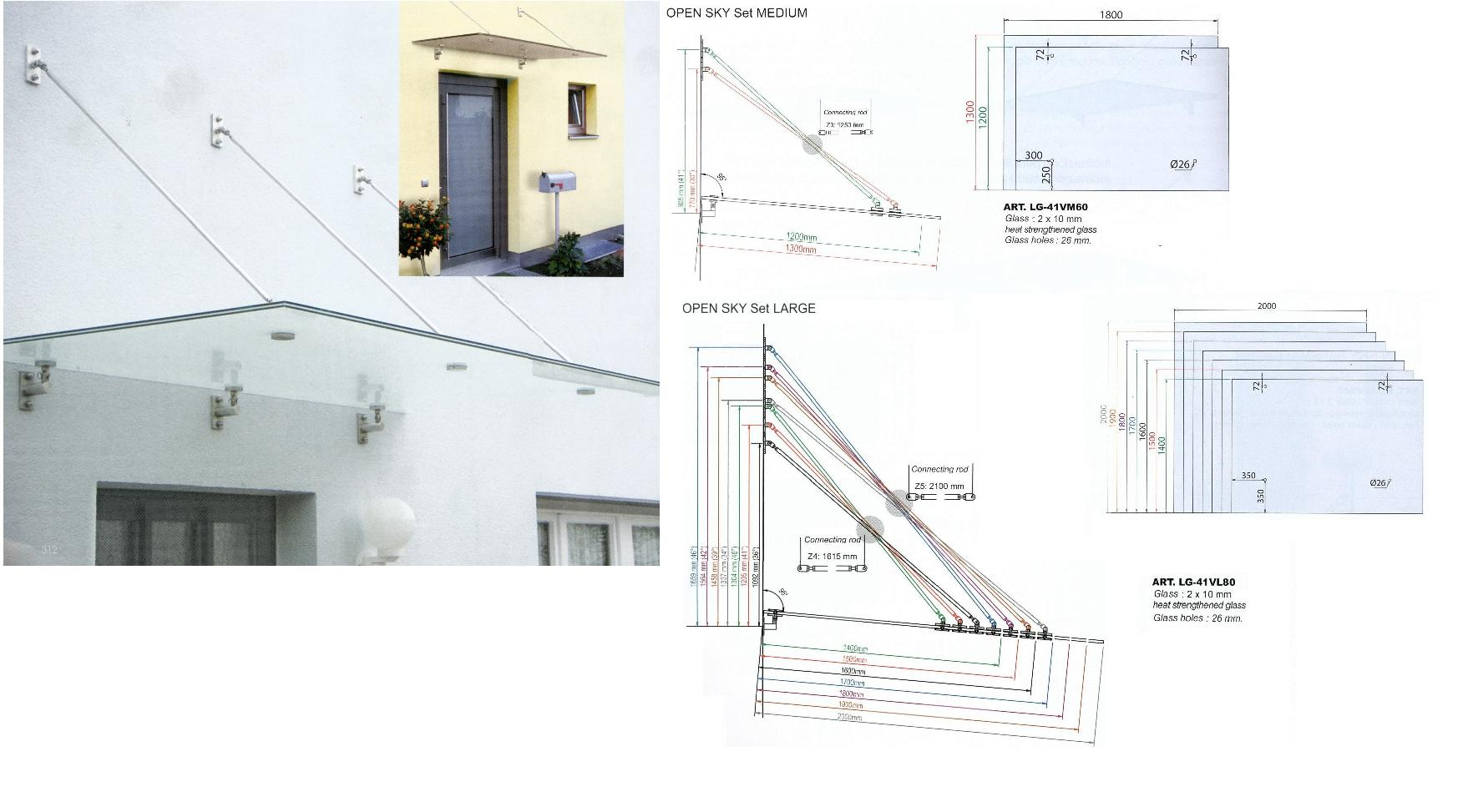 Open Sky Glass Canopy System Andrew Vassallo General Trading