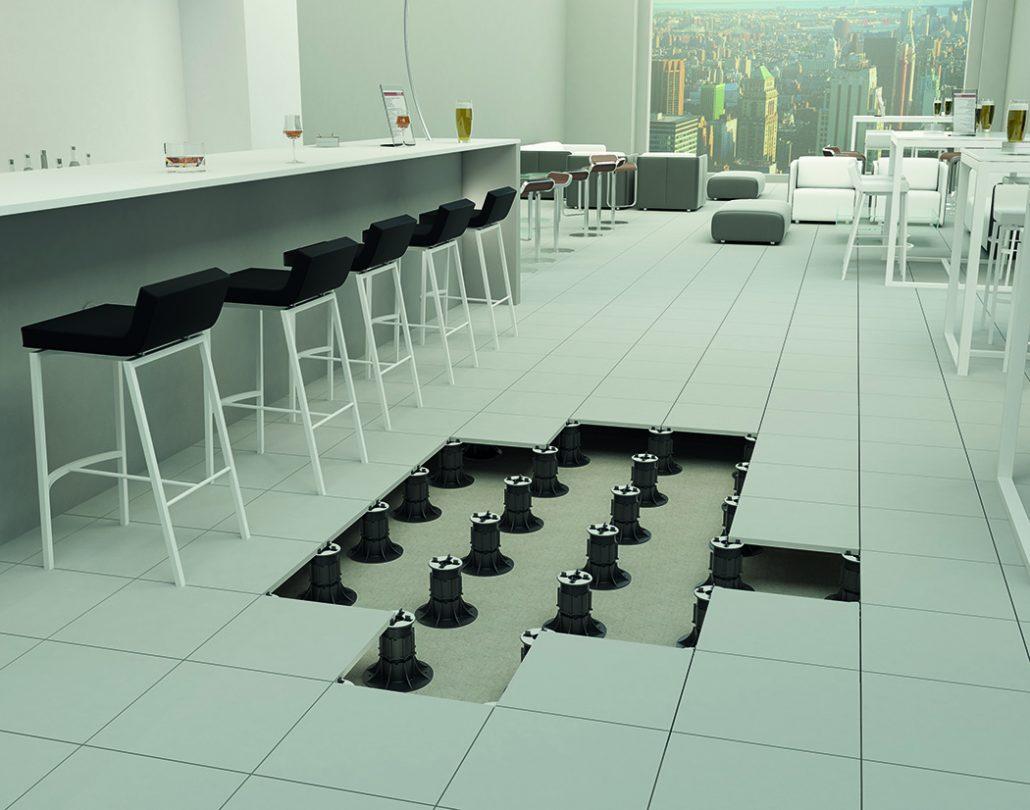 Raised Flooring System Carpet Review