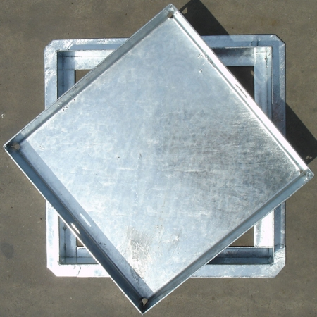 Galvanized Recessed Manhole Covers