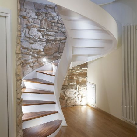 Helicoidal Staircases